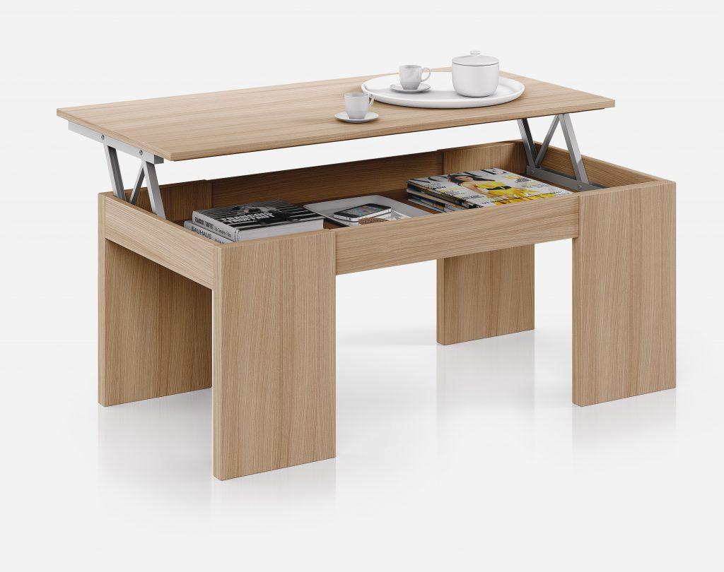 mesa de centro elevable modelo Andrea