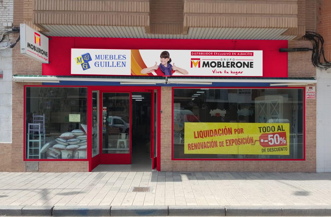 Nueva tienda moblerone en albacete muebles tiendas de - Muebles de cocina albacete ...