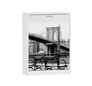 Y 15035 BANCO NEW YORK 300x281 - Zapatero 2 puertas NY