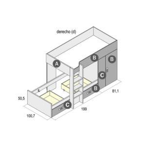 700D 300x300 - Dormitorio juvenil GAMES 12