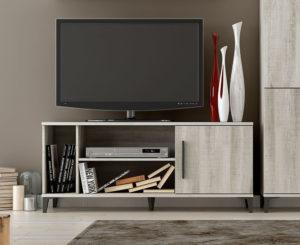 MILAN CNY420 300x245 - Bajo TV con puerta y huecos MILÁN