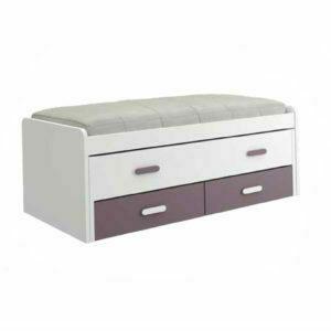 CNL065 300x300 - Compacto con cama desplazable y 2 cajones PARCHIS
