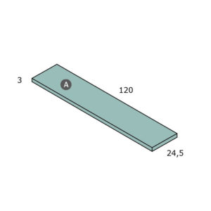 CNL114 300x300 - Estante de pared PARCHIS de 120 cm