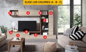 Compo 20 300x184 - Mueble de salón CONTINENTAL 14