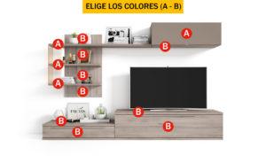 Compo 25 300x184 - Mueble de salón CONTINENTAL 7