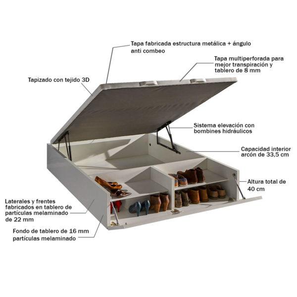 SCARPA ABIERTO 600x600 - Canapé de madera con zapatero ASIA
