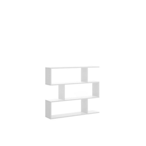 Y 18085 fondo 600x600 - Estantería baja LISSA blanca